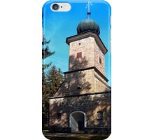 Maria Rast forest chapel | architecture photography iPhone Case/Skin