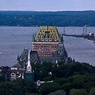 Chateau Frontenac by Brenda Dow