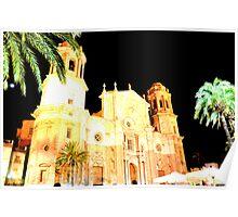 CADIZ - La Catedral Poster