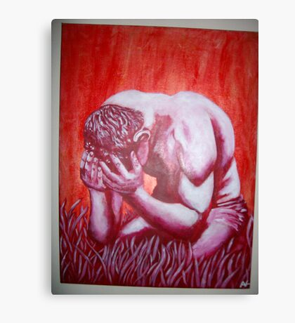 The Suffering of Man Canvas Print