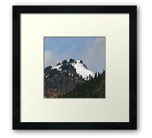Mountaintop Geology Framed Print