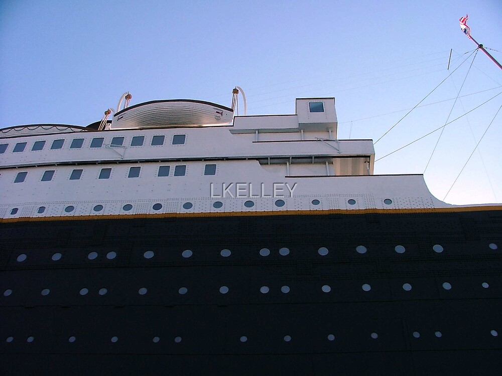 Titanic Museum Looking Up from Ground Level by LKELLEY