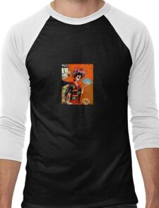 Geishabot Men's Baseball ¾ T-Shirt
