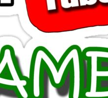 I am a YouTube GAMER Sticker