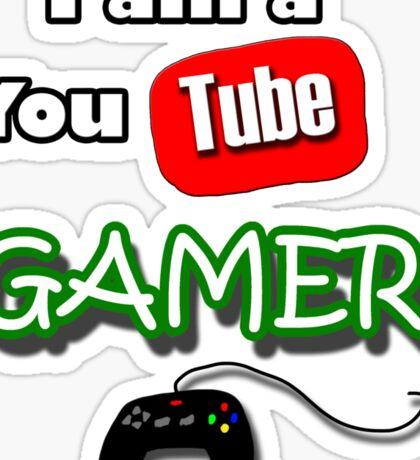 I am a YouTube GAMER Sticker