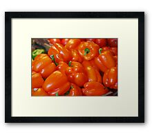 """Pick Yourself a Pepper...Please""! Framed Print"