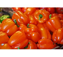 """""""Pick Yourself a Pepper...Please""""! Photographic Print"""