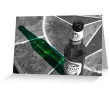 A Cold Beverage On A Hot Day! Greeting Card