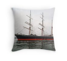 The Star of India Throw Pillow