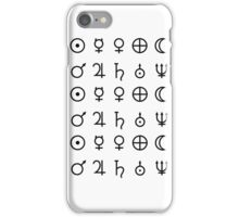 Planet Glyphs iPhone Case/Skin