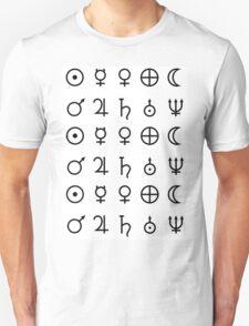 Planet Glyphs Unisex T-Shirt