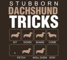 Stubborn Dachshund Tricks by classydesigns