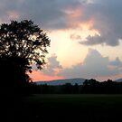 Sunset at Ashley Falls by mooner1