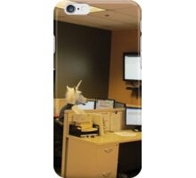 Unicorn in a cubicle #1 - the death of magic iPhone Case/Skin