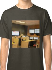 Unicorn in a cubicle #1 - the death of magic Classic T-Shirt