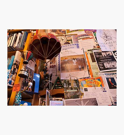 Bookshop Eccentricies Photographic Print