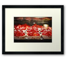 Dessert is Served! Framed Print