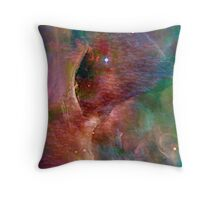 Cosmic Mushrooms 4 Throw Pillow