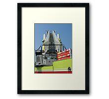 Ladder Symmetry Framed Print