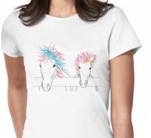 Lil Punks - Light Womens Fitted T-Shirt