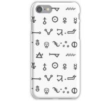 Alchemy Glyphs iPhone Case/Skin