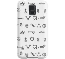 Alchemy Glyphs Samsung Galaxy Case/Skin
