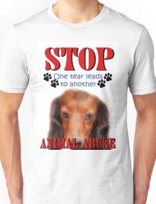 STOP ABUSE T-SHIRT Unisex T-Shirt