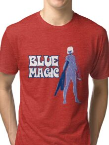 Guns N' Honey: Blue Magic Tri-blend T-Shirt
