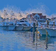 The Night Before the White Marlin Open by Sarah Butcher