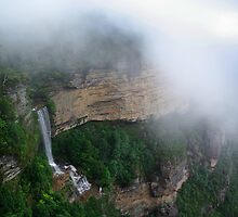 Katoomba Falls by Dennis Wetherley