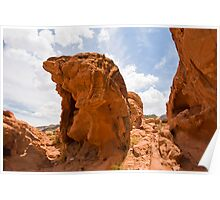 Sandstone Sculptures - Valley of FIre Poster