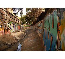 Hawthron drains 2009 Photographic Print
