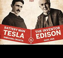 Edison vs Tesla by rara25