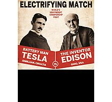 Edison vs Tesla Photographic Print