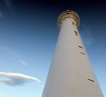 Castle Point Lighthouse. by Michael Treloar