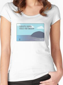 Big Blue- What's Older Than the Hills? Women's Fitted Scoop T-Shirt