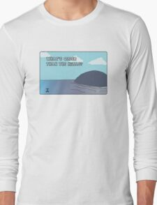 Big Blue- What's Older Than the Hills? Long Sleeve T-Shirt