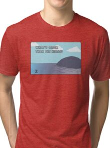 Big Blue- What's Older Than the Hills? Tri-blend T-Shirt