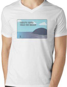 Big Blue- What's Older Than the Hills? Mens V-Neck T-Shirt