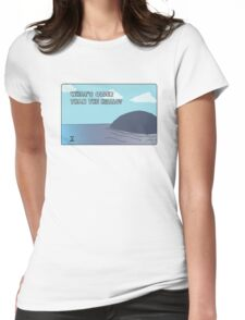 Big Blue- What's Older Than the Hills? Womens Fitted T-Shirt