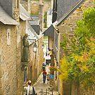 Ruelle Qui Mene au Port de St. Goustan by Buckwhite