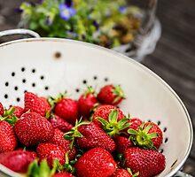 Fresh Strawberries by TonyPriestley