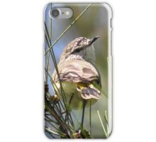 Yellow-rumped Thornbill iPhone Case/Skin