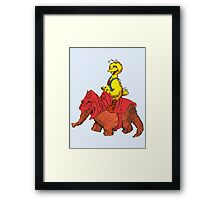 He-Bird and Battle Snuffy Framed Print