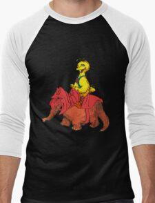 He-Bird and Battle Snuffy Men's Baseball ¾ T-Shirt