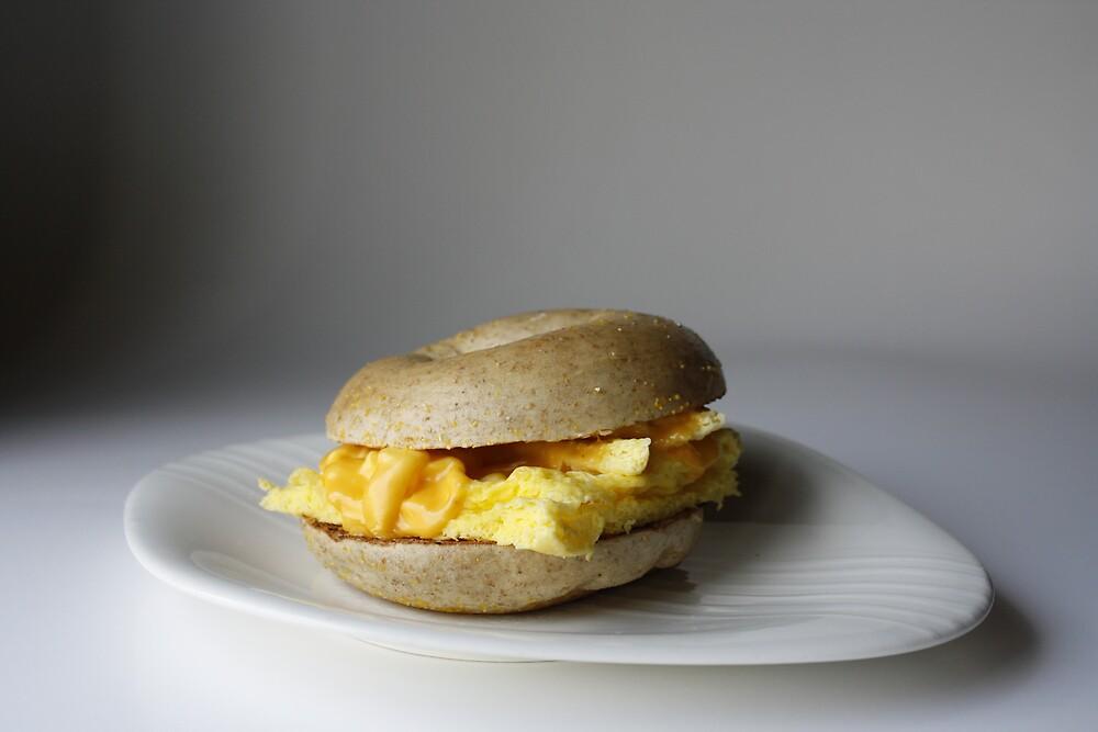 Breakfast Bagel by Mark Vidal