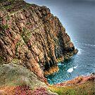 """""""Edging the Cliffs"""" by Bradley Shawn  Rabon"""