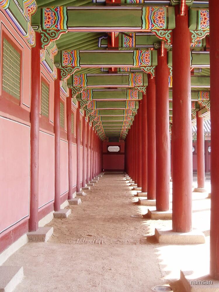 Korean Palace Seoul by namsan