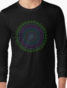Psychedelic Spin Long Sleeve T-Shirt