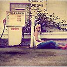 Hangin' at the old Gas Pump by Kristen  Byrne
